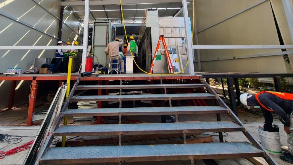 Metro pondrá en operación Telemetría en la Línea 1 para mayor seguridad - Trabajadores del Metro laborando para restablecer el servicio derivado del incendio del pasado 9 de enero. Foto Twitter @MetroCDMX