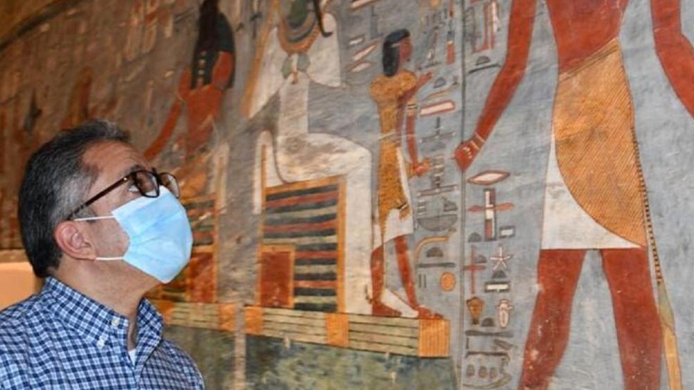 Egipto reabre la tumba de Ramses I en el Valle de los Reyes tras restaurarla - Foto de Ministerio de Turismo y Antigüedades de Egipto