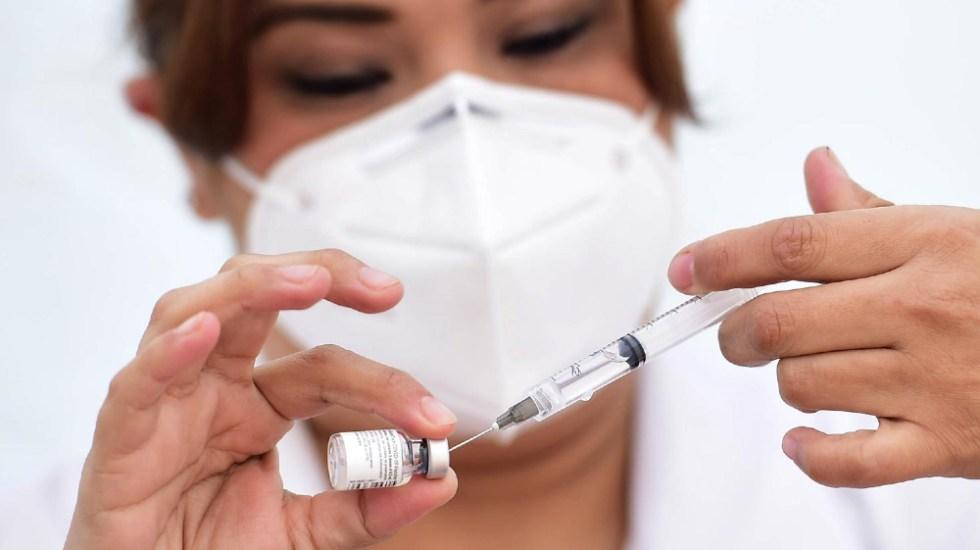 Vacunas contra COVID-19 llegarán a los estados la próxima semana: Mauricio Vila - Dosis de vacuna contra COVID-19. Foto de Gobierno de México