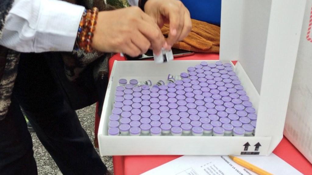 GOAN podría adquirir vacuna de AstraZeneca o Pfizer hasta diciembre o el próximo año - Vacunas de Pfizer contra el COVID-19. Foto de Secretaría de Salud de Tamaulipas