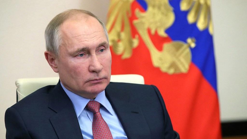 Rusia llama a embajador en Washington tras declaraciones de Biden; Casa Blanca defiende críticas contra Putin - Vladimir Putin, presidente de Rusia. Foto de @KremlinRussia