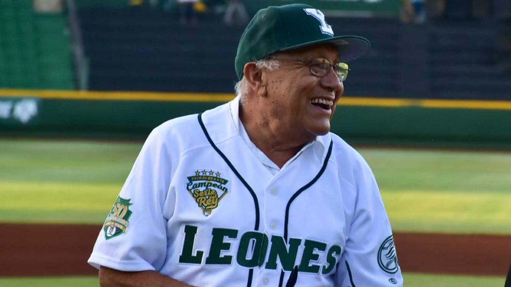 Murió William Berzunza, inmortal del béisbol mexicano - Foto de Leones de Yucatán
