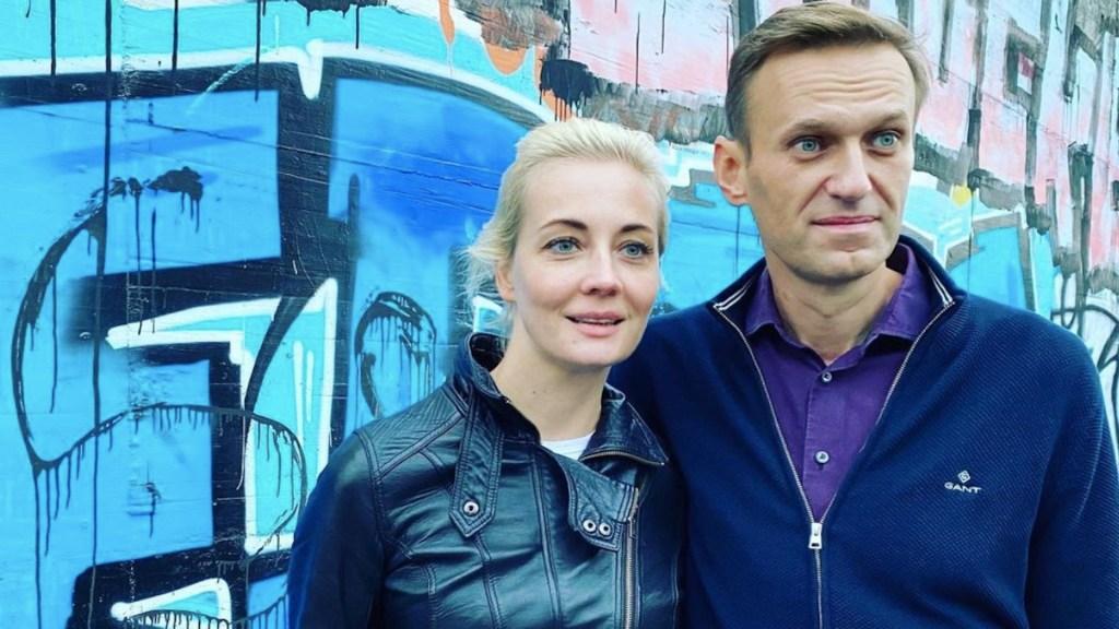 Detienen a Yulia Navalnaya, esposa del líder opositor ruso Alexéi Navalni - Foto de Instagram Yulia Navalnaya