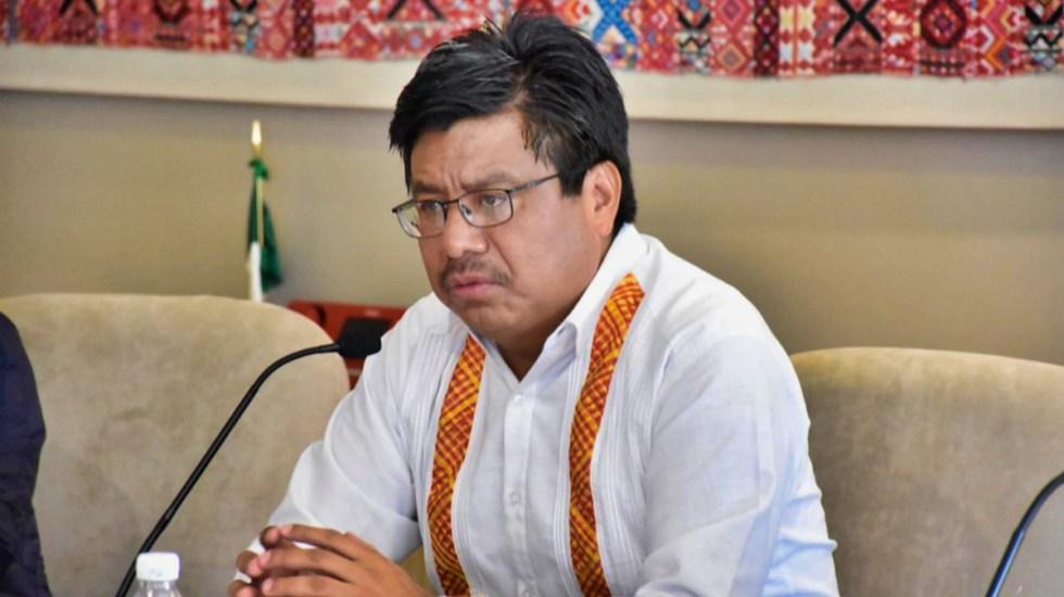 Adelfo Regino, director del INPI, da positivo a COVID-19 - Adelfo Regino Montes, director general del INPI. Foto de Gobierno de México