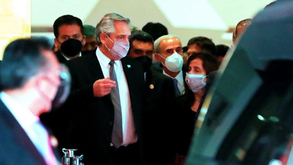 """Empresarios esperan """"apertura y recuperación"""" tras reunión con el presidente de Argentina, Alberto Fernández - Foto de EFE"""