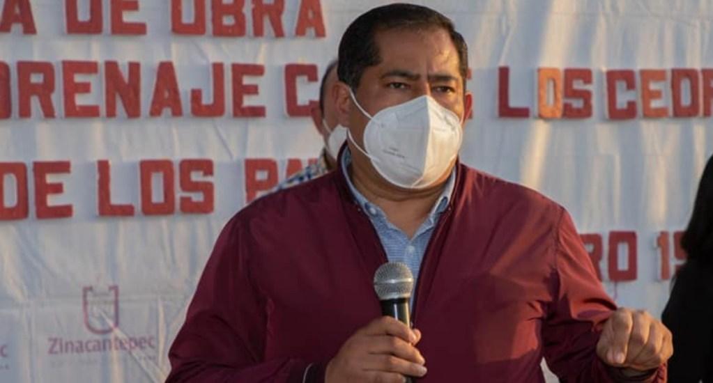 """#Video """"En Zinacantepec el COVID no existe"""", asegura alcalde - José Gustavo Vargas Cruz, alcalde de  Zinacantepec. Foto de Facebook"""