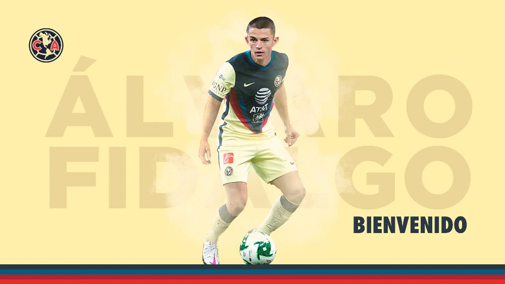 América anuncia a Álvaro Fidalgo como nuevo refuerzo - Foto de @ClubAmerica