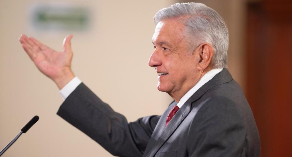"""""""Se está analizando cómo resolver el tema del excedente de gas en el país"""", decía López Obrador en agosto pasado - El presidente López Obrador en conferencia de prensa el 10 de agosto de 2020. Foto de lopezobrador.org.mx"""