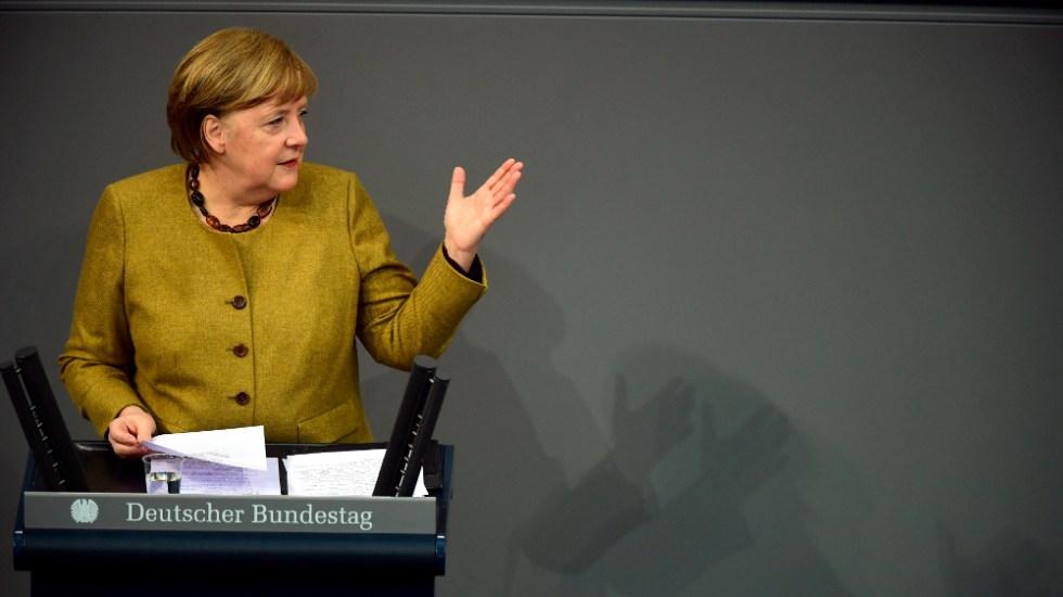 Merkel defiende prolongación de restricciones por COVID-19, pero con meta de levantarlas - Foto de EFE
