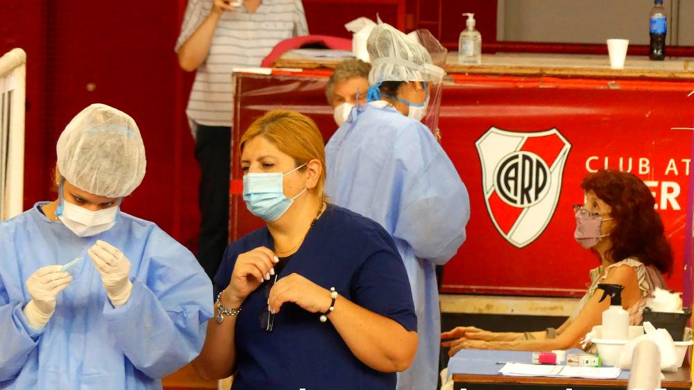 Argentina cumple un año del inicio de las restricciones por el COVID-19 - Argentina ante el COVID-19. Foto de EFE