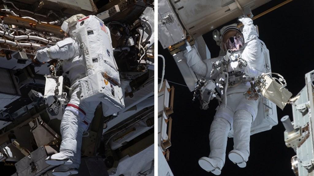 Astronautas concluyen segunda caminata en menos de una semana en la EEI - Foto de Estación Espacial Internacional