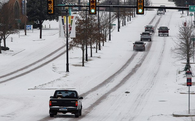 Joe Biden dispuesto a viajar a Texas, en emergencia por bajas temperaturas - Clima gélido en Texas por tormenta invernal. Foto de EFE