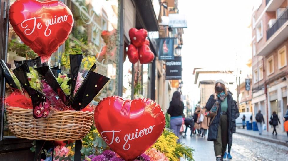 Compras por internet por San Valentín han aumentado 321 por ciento en una década - Foto de EFE