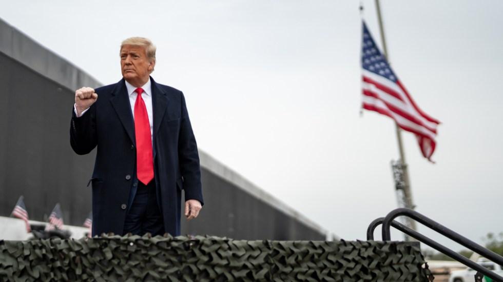 Donald Trump hablará del futuro de los republicanos y de Biden en foro conservador - Donald Trump muro