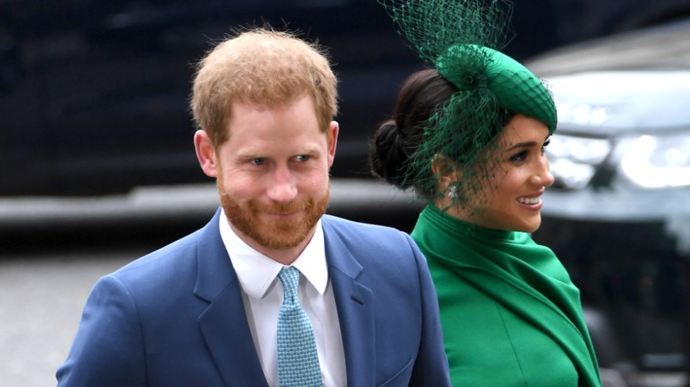 CBS habría pagado más de 7 mdd por entrevista a Meghan Markle y príncipe Harry - Foto de EFE