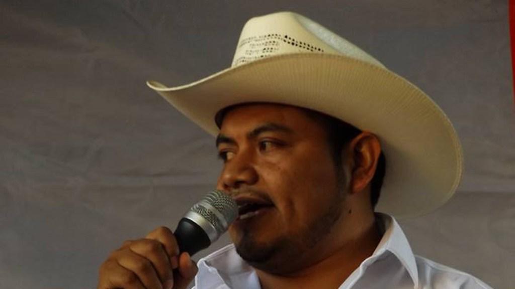 Murió por COVID-19 el alcalde de San José Tenango, Oaxaca - Hugo García Ríos. Foto de Facebook