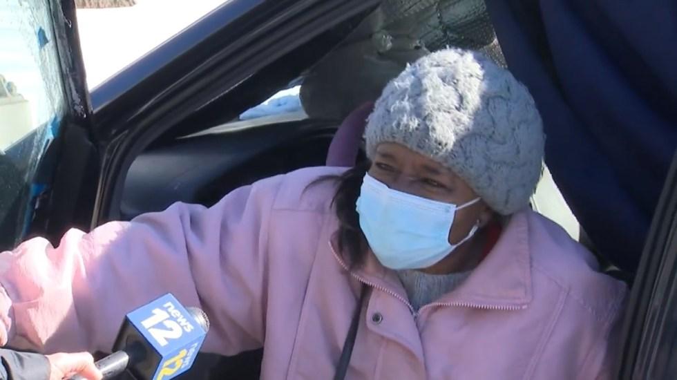 Anciana queda atrapada durante cuatro días en su camioneta por la nieve - Janet Ward. Foto de News 12 New Jersey