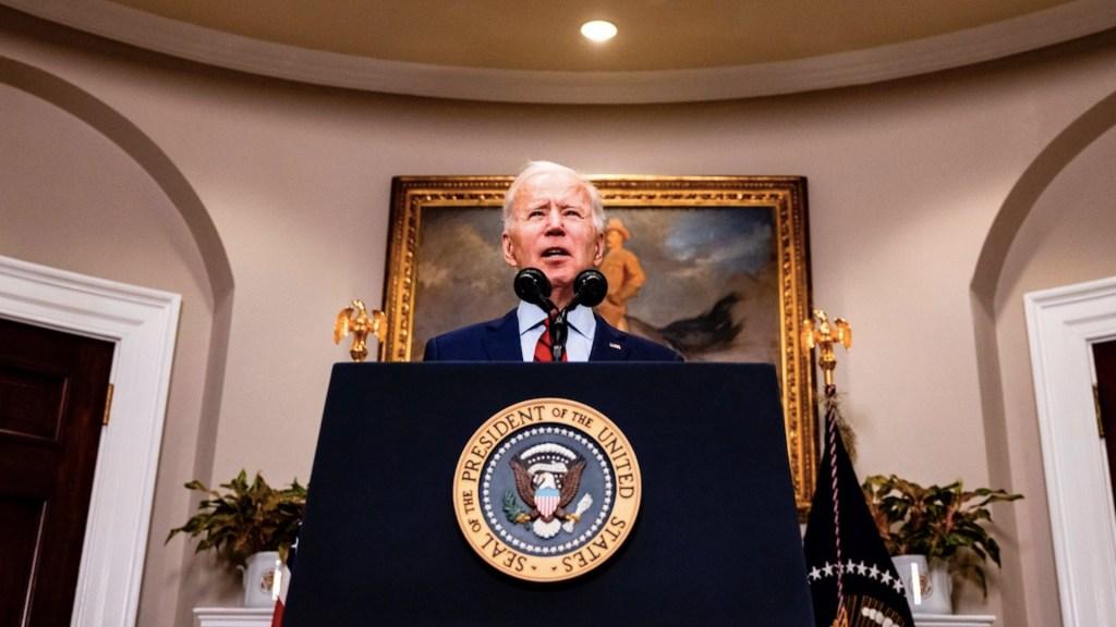 """""""No hay tiempo que perder"""": Biden pide al Senado aprobar rescate para aliviar el """"sufrimiento"""" por COVID-19 - Foto de EFE"""