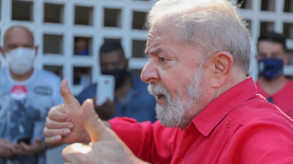 Lula aspiraría a la Presidencia de Brasil si es necesario para vencer a Bolsonaro - Lula da Silva. Foto de Ricardo Stuckert / @LulaOficial
