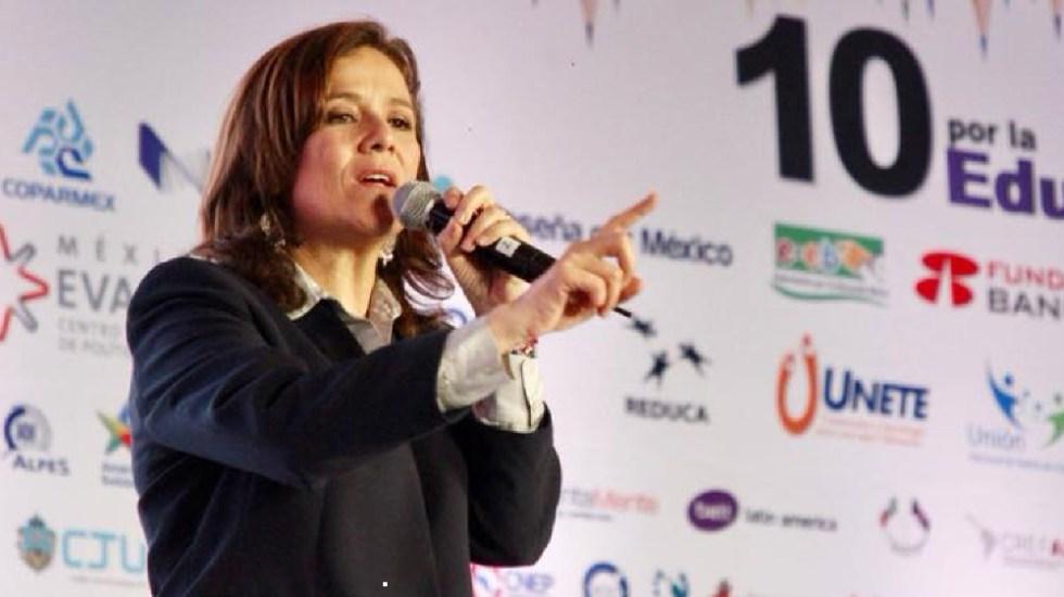 """Llama Margarita Zavala a evitar mayoría de Morena en el Congreso; sería un """"suicidio democrático"""", asegura - Foto de Margarita Zavala"""