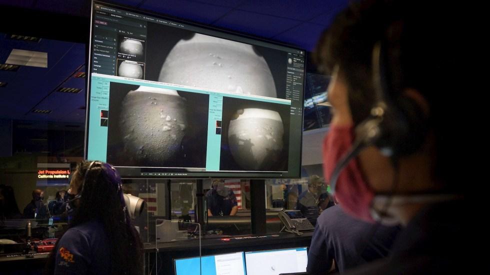 Amartizaje del Perseverance marca el inicio de la búsqueda de vida anterior - Marte Perseverance llegada amartizaje