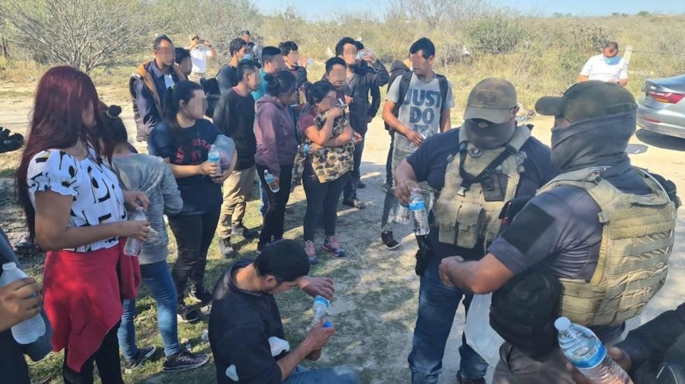 """Fortalecer frontera sur fue para proteger a migrantes: AMLO. """"Corren peligro si se internan en el territorio"""", asegura - Foto de Fiscalía de Tamaulipas"""