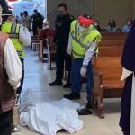 Muere hombre por infarto fulminante cuando ingresó de rodillas a iglesia en Tlalpan