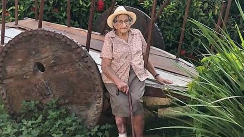 Adulta mayor recibe vacuna contra COVID-19; murió atropellada cuando celebraba - Foto de Daily Mail