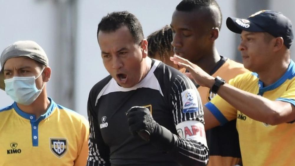 Un portero es el máximo goleador en el torneo de ascenso en Colombia - Foto de Boca Juniors de Cali
