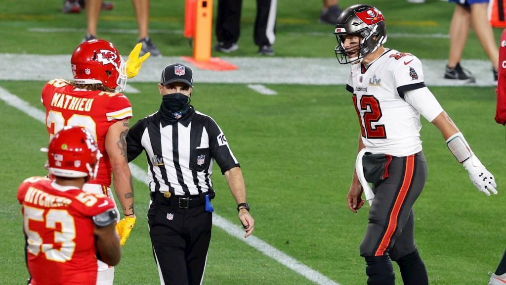 Tom Brady ofrece disculpas por insultar a jugador de Chiefs durante el Super Bowl - NFL Tom Brady y Mathieu