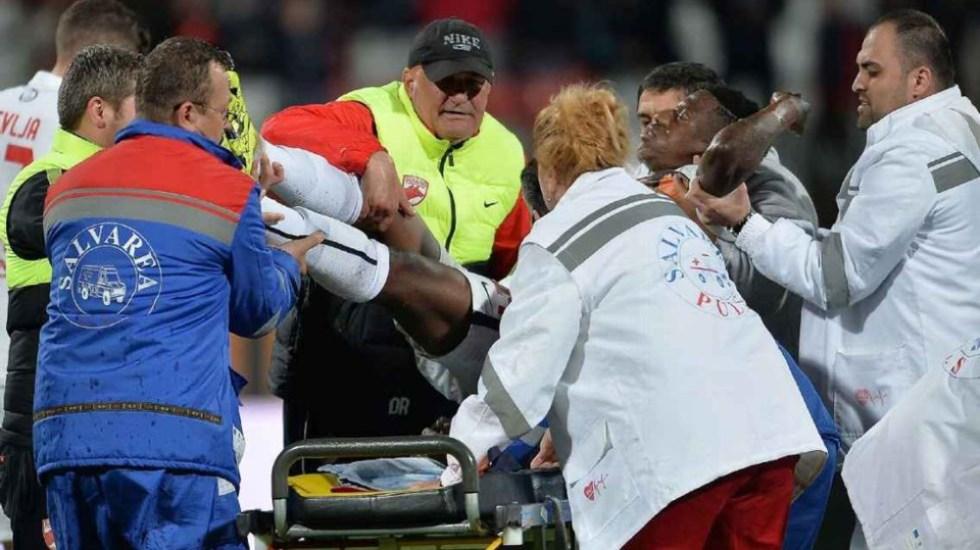 Condenada por homicidio a la médica que trató en el estadio al camerunés Patrice Ekeng - Foto de EFE