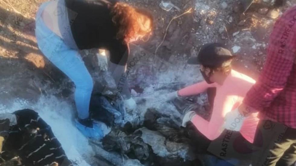 Encuentran en fosa cuerpos de sobrina y cuñada de 'El Güero' Palma en Sonora - Foto de Rastreadoras de Ciudad Obregón