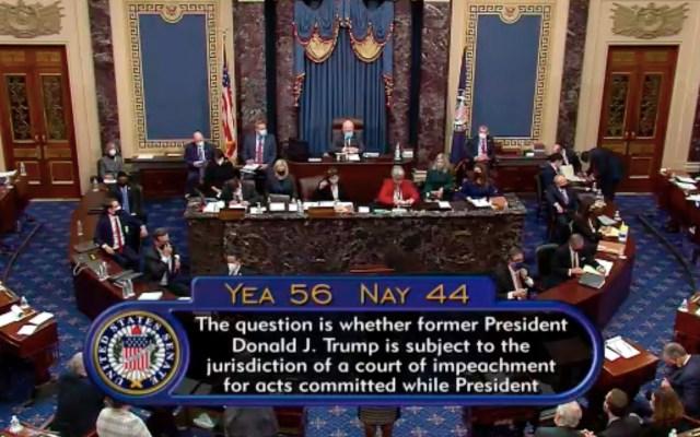 Senado de EE.UU. declara constitucional impeachment a Donald Trump. Habrá segundo juicio político - Foto de EFE