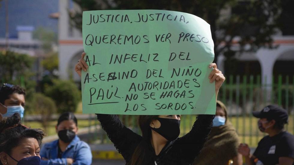 Por llorar, un niño de dos años es asesinado a golpes en Chiapas - Trabajadoras sexuales y bailarinas de Chiapas exigen justicia por el asesinato de un bebé de dos años. Foto de EFE