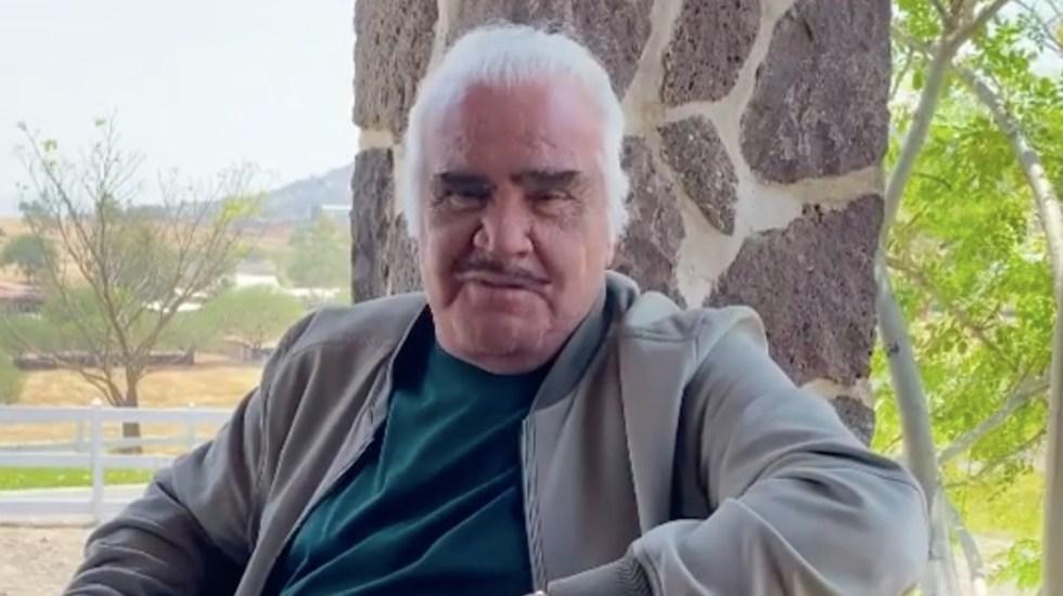 #Video Vicente Fernández reaparece en redes sociales tras acusaciones de acoso - Captura de pantalla