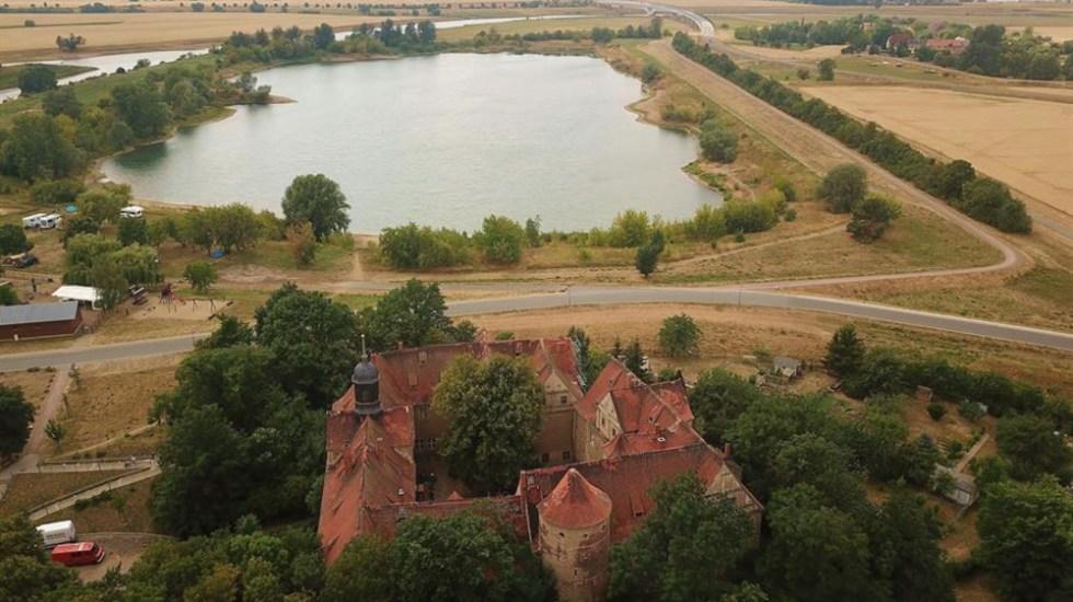 El castillo de Mühlberg: de la batalla de Carlos V a residencia de artistas - El castillo de Mühlberg