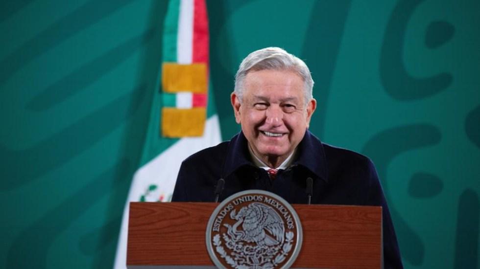 'Hay que buscar la autosuficiencia', destaca AMLO tras apagón - Andrés Manuel López Obrador, presidente de México. Foto de EFE.