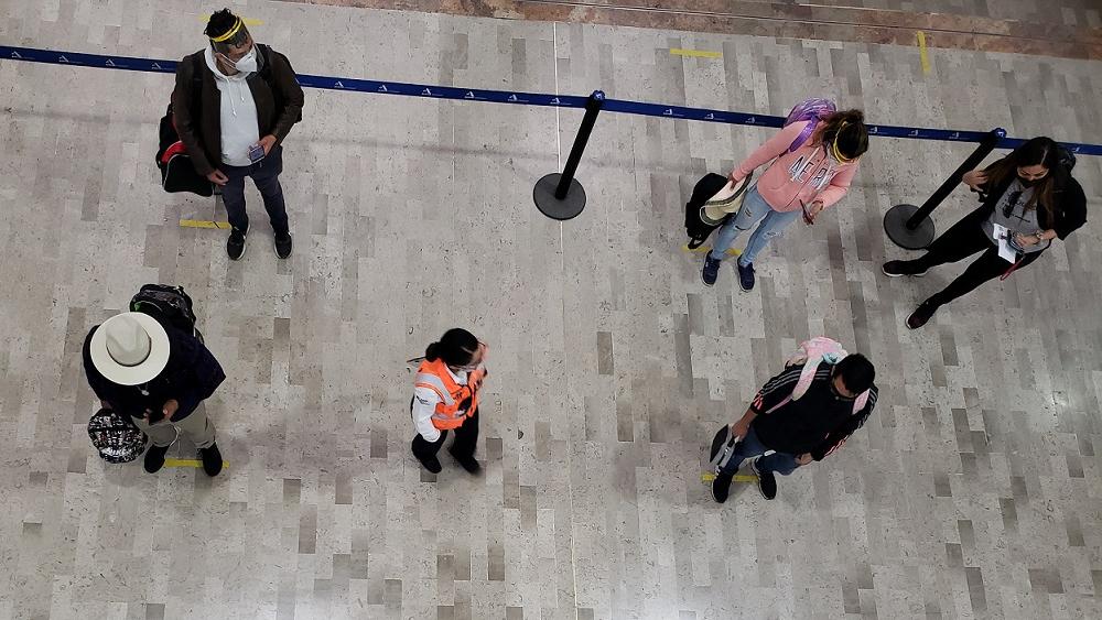 AICM reforzará medidas anticovid en vacaciones de Semana Santa - Foto de @SCT_mx