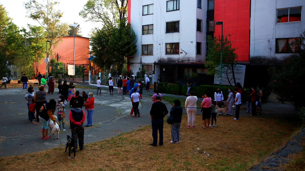 """Fallas en la alerta sísmica de Ciudad de México se debieron a """"error humano"""" - Foto de EFE"""