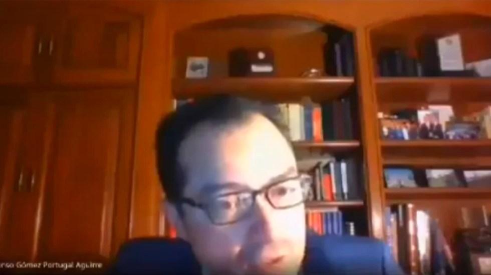 """#Video Renuncia profesor de la Universidad Panamericana tras críticas a paro """"Un día sin nosotras"""" - Foto de captura de pantalla"""