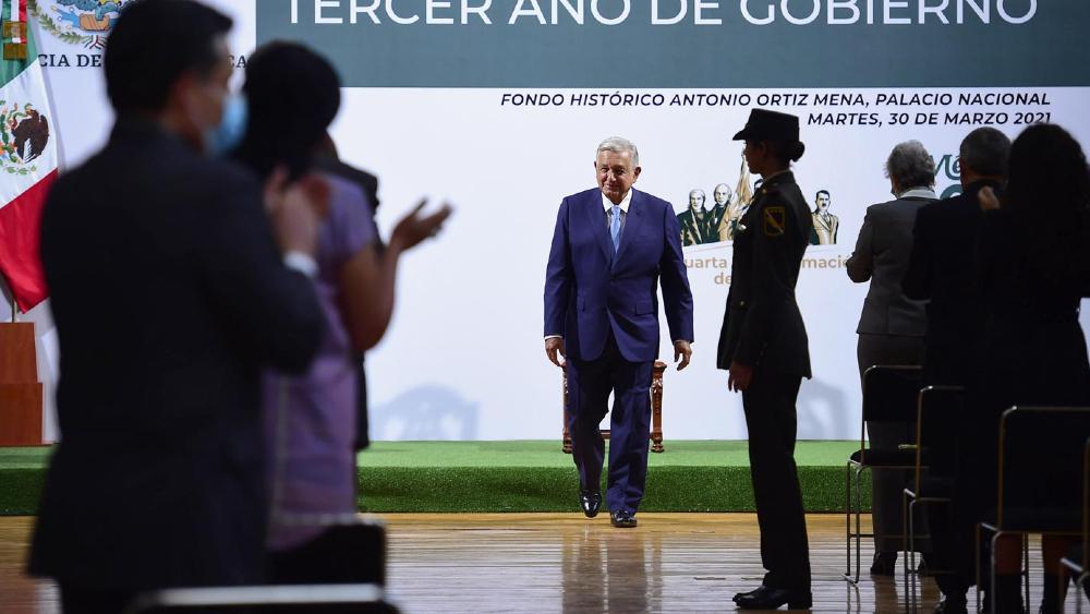 López Obrador: 'aun con la pandemia, México se transforma'