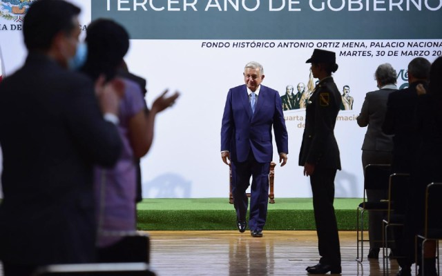 AMLO responde al TEPJF: rechaza que Informe fuera propaganda gubernamental - AMLO Lopez Obrador informe 100 días
