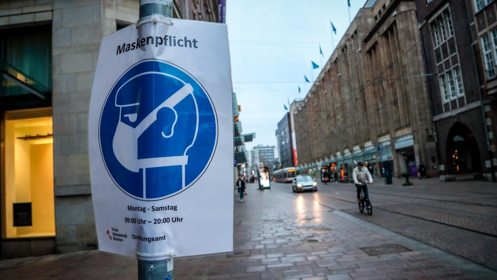 Pandemia es una prueba de fuego para nuestras democracias: Merkel - Bremen Alemania covid19 coronavirus pandemia