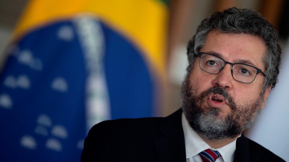 El canciller brasileño Ernesto Araujo