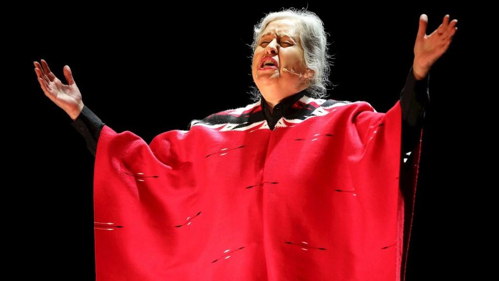 Teatro colombiano reabre con homenaje a Chavela Vargas - Chavela Vargas