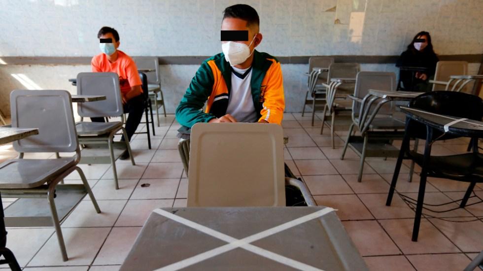 Exigen vacunación de menores previo a regreso a clases presenciales - Exigen vacunación de menores previo a regreso a clases presenciales. Foto de EFE