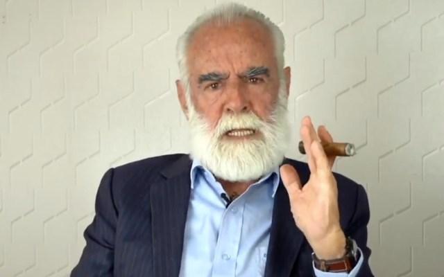 Diego Fernández de Cevallos acusa falta de respuesta de FGR ante denuncia contra AMLO - Foto de Diego Fernández de Cevallos