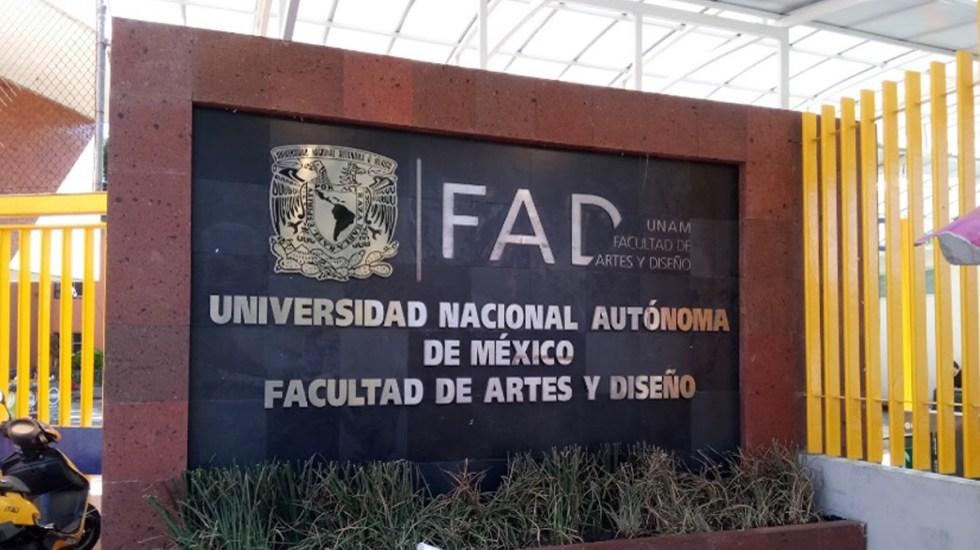 Embozados irrumpen en la Facultad de Artes y Diseño de la UNAM - Facultad de Artes y Diseño de la UNAM. Foto de Google Maps / dxnnetsu