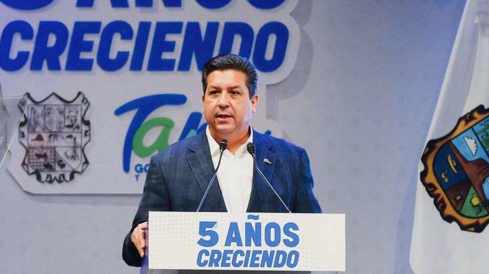 Giran orden de aprehensión contra García Cabeza de Vaca; UIF congela sus cuentas - El gobernador de Tamaulipas Francisco Javier García Cabeza de Vaca. Foto de Twitter @fgcabezadevaca