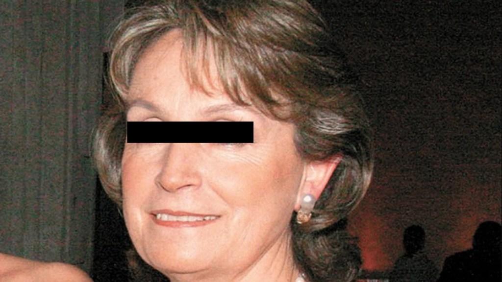 Conceden prórroga para cierre de investigación contra madre de Emilio Lozoya - Gilda Austin, madre de Emilio Lozoya. Foto de El Universal